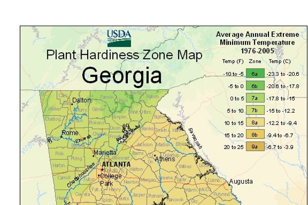 Usda Plant Hardiness Zone Map - Planting-zone-map-of-us