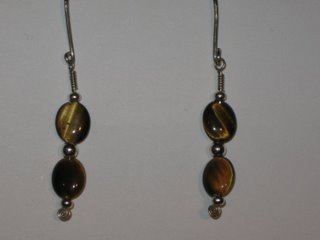 E-19 sterling silver wire with tiger eye and sterling silver $12.jpg