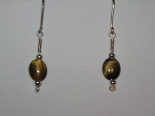 E-21 sterling silver wire with tigereye and sterling silver beads $12.jpg